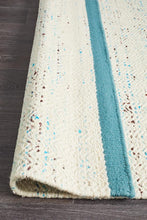 Load image into Gallery viewer, Skandinavian 307 Turquoise Rug