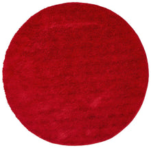 Load image into Gallery viewer, Soho Round Shag Rug Red