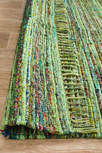 Load image into Gallery viewer, Spirit Bohemian Style Green Rug
