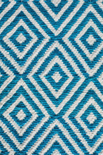 Load image into Gallery viewer, Spirit Diamond Turquoise Rug