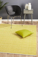Load image into Gallery viewer, Spirit Diamond Yellow Rug