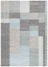 Load image into Gallery viewer, Studio Stina Mid Century Modern Rug Multi Blue