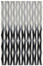 Load image into Gallery viewer, Studio Frida Uber Gradient Rug Black Grey White