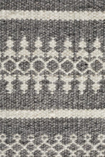 Load image into Gallery viewer, Studio Ester Delicate Lace Woollen Rug Grey