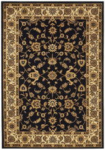 Load image into Gallery viewer, Sydney Collection Classic Rug Blue With Ivory Border