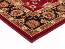 Load image into Gallery viewer, Sydney Classic Runner Red With Black Border Runner Rug
