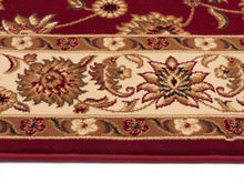 Load image into Gallery viewer, Sydney Classic Runner Red With Ivory Border Runner Rug