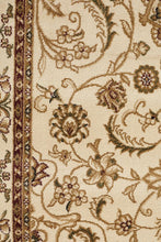 Load image into Gallery viewer, Sydney Collection Medallion Rug Ivory With Ivory Border