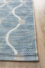 Load image into Gallery viewer, Rug Culture Terrace 5501 Blue Runner Rug