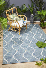 Load image into Gallery viewer, Rug Culture Terrace 5501 Blue