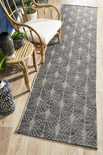 Load image into Gallery viewer, Rug Culture Terrace 5502 Black Runner Rug