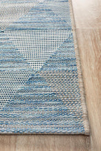Load image into Gallery viewer, Rug Culture Terrace 5503 Blue Runner Rug