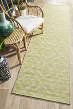 Load image into Gallery viewer, Rug Culture Terrace 5504 Green Runner Rug