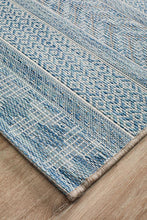 Load image into Gallery viewer, Rug Culture Terrace 5505 Blue Runner Rug
