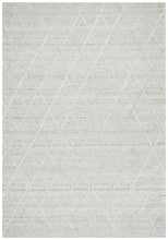 Load image into Gallery viewer, Visions Winter Silver Styles Modern Rug