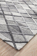 Load image into Gallery viewer, Visions Winter Grey Gravel Modern Rug