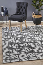 Load image into Gallery viewer, Visions Winter Pewter Prestige Modern Rug