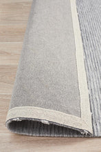 Load image into Gallery viewer, Visions Winter Grey Pulse Modern Rug