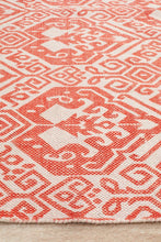 Load image into Gallery viewer, Zulu Totemic Passel Rust Rug