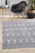 Load image into Gallery viewer, Zulu Totemic Rally White Rug