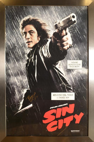 Sin City Signed Poster