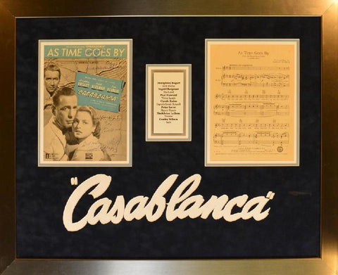 Casablanca As Time Goes By Sheet Music