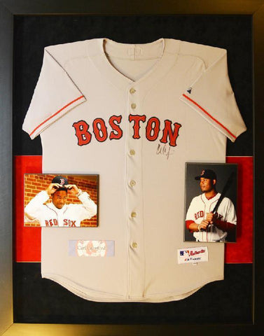 Carl Crawford Boston Red Sox Jersey