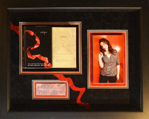 "Stephenie Meyer Signed ""Eclipse"" book"