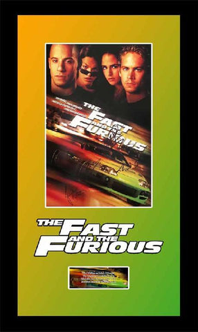 The Fast and the Furious Mini Poster