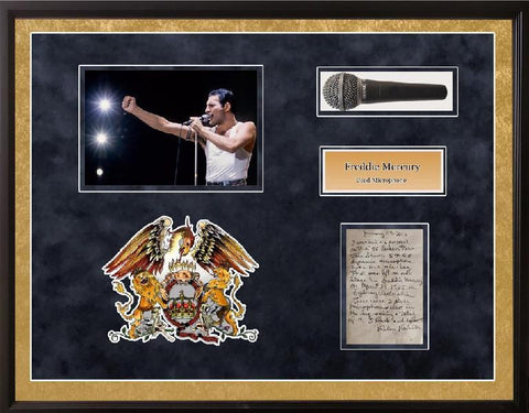 Freddie Mercury Queen Stage Used Microphone