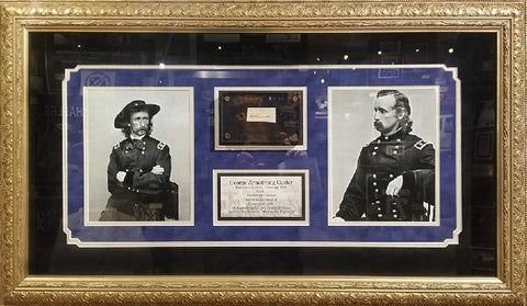 George Custer Signature Cut