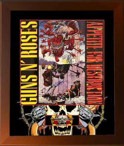 "Guns N Roses ""Appetite for Destruction"" Poster"