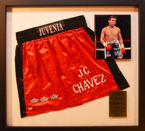 Julio Cesar Chavez Boxing Trunks