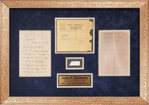 John F. Kennedy Signature Cut