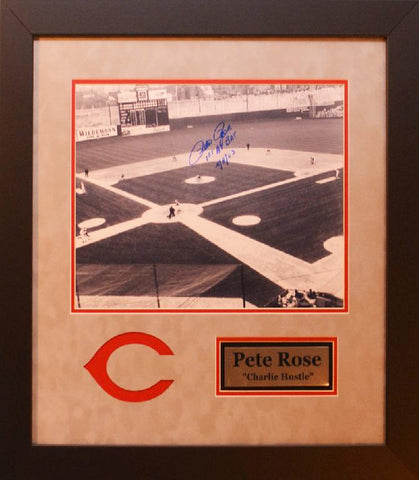 Pete Rose Cincinnati Reds First At Bat