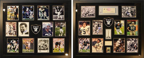 1976 Oakland Raiders Super Bowl Team Collage