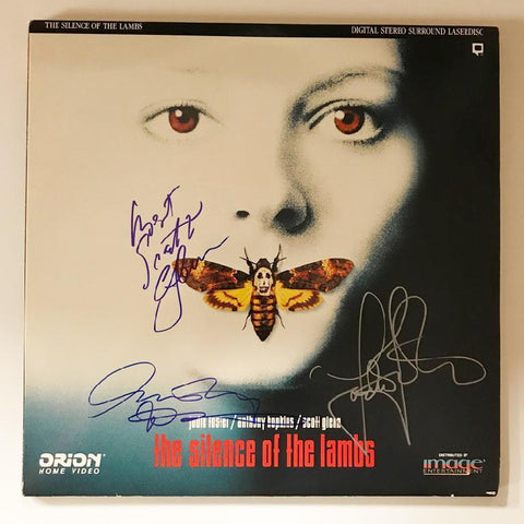 Silence of the Lambs Laser Disc
