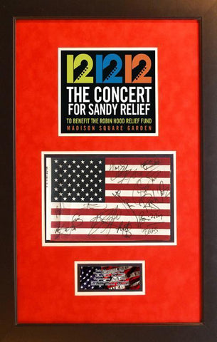 Concert for Sandy Relief Flag