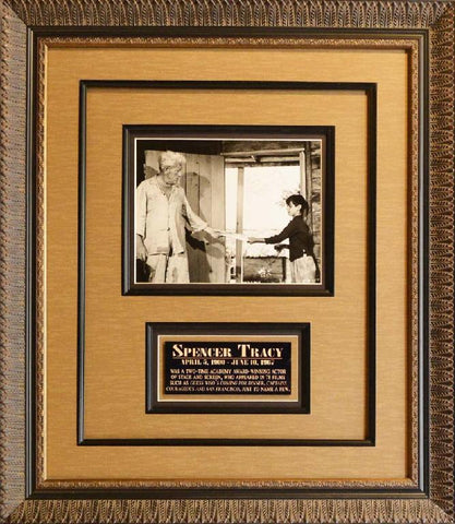 Spencer Tracy Signed photo