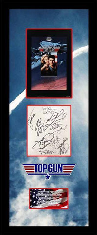 Top Gun Cast Signature Cut