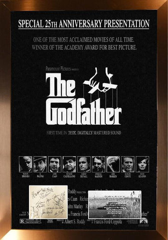 Godfather Cast Signature Cut
