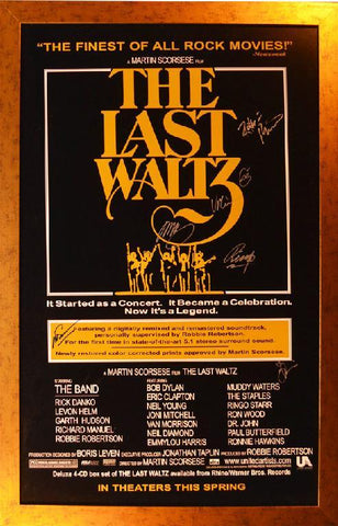 The Last Waltz Poster