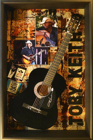 Toby Keith Acoustic Guitar