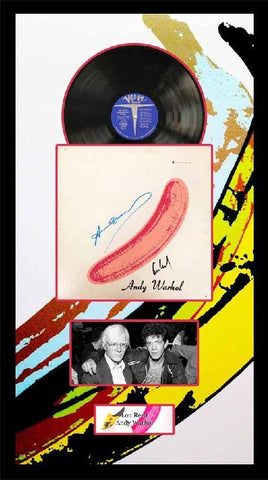 "Andy Warhol and Lou Reed ""The Velvet Underground"" Album"
