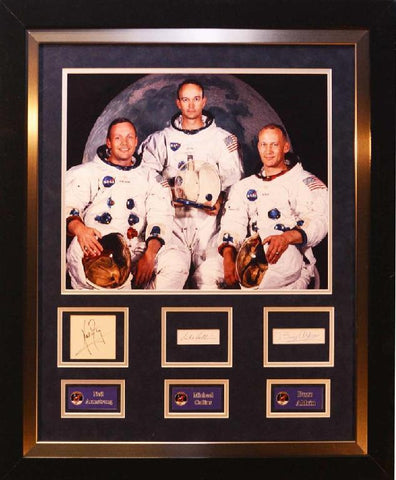Apollo 11 Signature Cut Collage