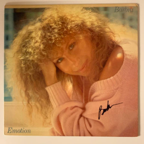 "Barbra Streisand ""Emotion"" Album"