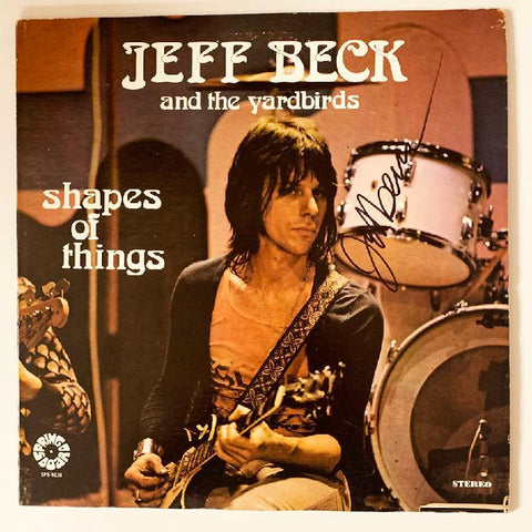 "Jeff Beck ""Shapes of Things"" Album"