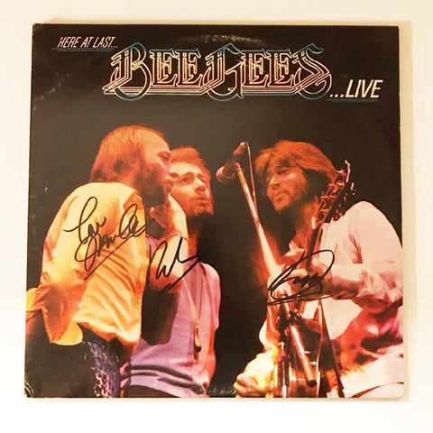 "Bee Gees ""Here at Live"" Album"