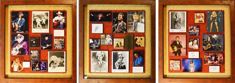 Country Music Legends Collage