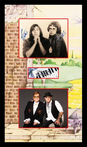 Elton John & Bernie Taupin Photo